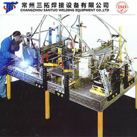 Santuo Brand Multi-Functional Welding Casting Table for Car Frame Welding