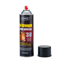 No spots left slide wire spray adhesive for the metal surface