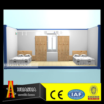 Comfortable demountable ready made living container house