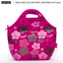Small MOQ Factory Price promotional eco-friendly insulated neoprene lunch bag