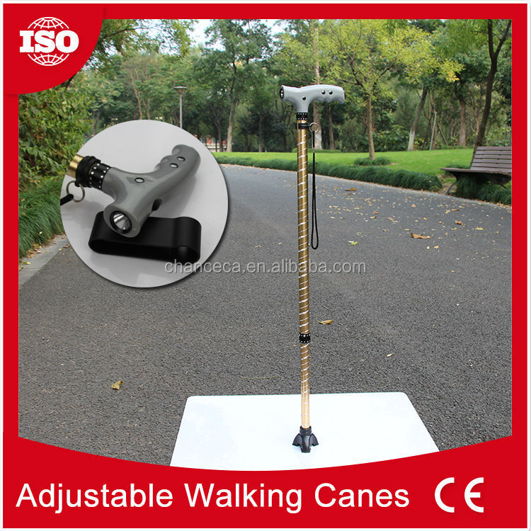 Professional non-folding telescopic walking canes for women