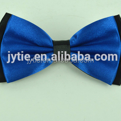 OEM custom design high quality wholesale ribbon bow tie