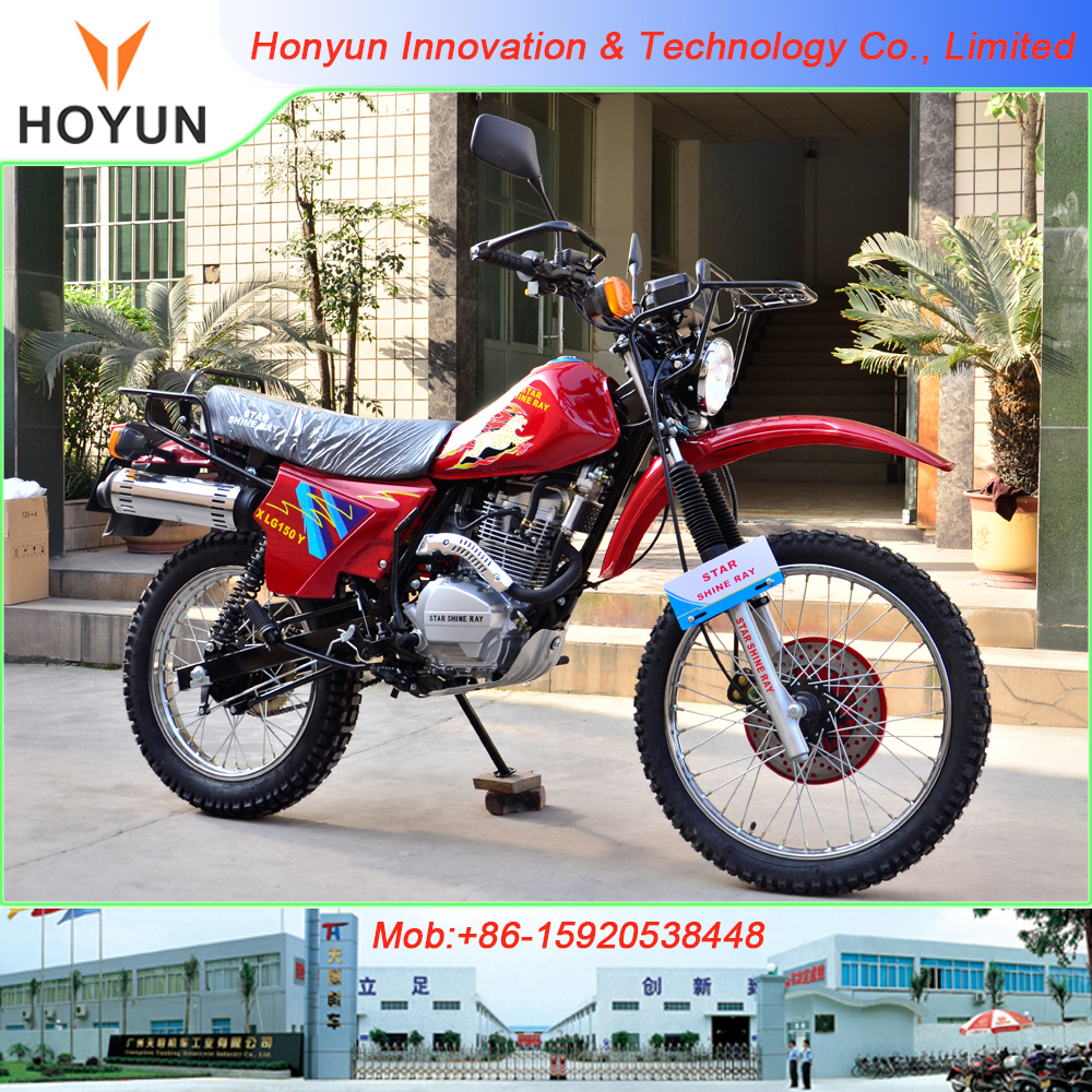 Hot sale in Africa Jialing Cross off-road JH150 motorcycles
