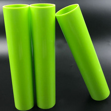 Solid Colored Polyethylene Material Clear Hard HDPE Round Pipe Plastic Tubes