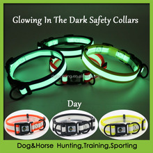 PVC coated polyester dog collars with quick release safety buckle wholesale