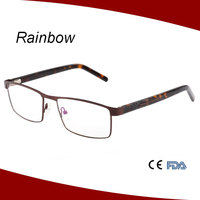 Latest metal free sample optical frames specs frames eyeglass frame wholesale in China MM15159
