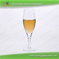 Wedding or party champagne glasses chamgagne flutes