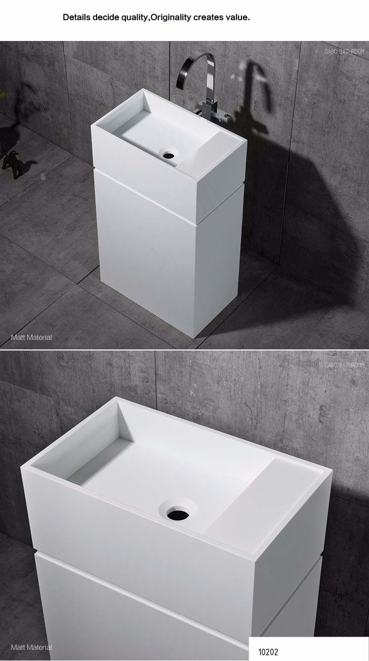 New design rectangular basin, wash basin price in India 10202-L