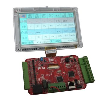 7 inch TFT display with controller board for industrial application