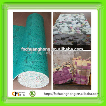 rebond scrap waste foam scrap furniture