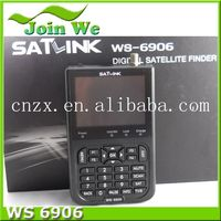 2013 digital satellite meter ws 6906 finder satellite meter ws6906 satlink WS-6906