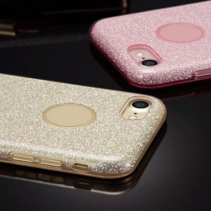 New mobile cover for iphone7 case,hot products phone case for iphone 7, glitter dimond TPU pc for iphone 7 plus case