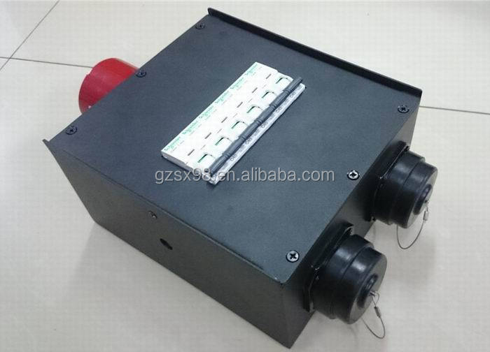 32A power input electrical metal switch box