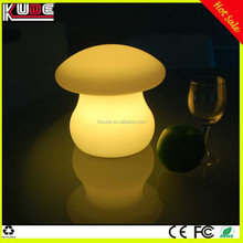 Mushroom shape lamp LED table lamp with battery powered