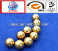 SGS approved h65 brass copper ball
