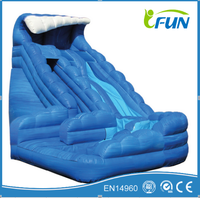 commercial grade jumping casltes with inflatbale slide/ inflatable iumping slide / inflatable slide fast speed
