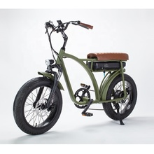 Super Chopper 73 electric <strong>bike</strong> cruiser fat tire 750 w/500w 48v