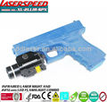 LASERSPEED/Visible LED Rail Mounted CREE Q5 180Lum Flashlight With Infrared Laser Sight