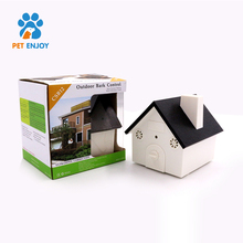 Waterproof Birdhouse Shape Outdoor Ultrasonic Dog Bark Control for Home Garden