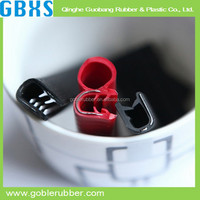 Co-exruded garage door epdm rubber seal strip with various size