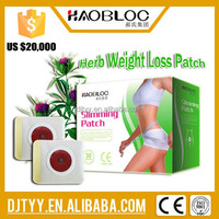 2016 Alibaba Express Medical Transdermal Herbal Slimming Patch Manufacturer
