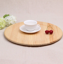 wholesale round wood cup tray