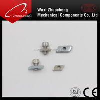 A2 A4 assembled combined machine screw with T nut for Aluminum profile