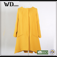 2015 New products looking for distributor classic coat, ladies office dress