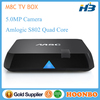 Factory Wholesale 4K2K Amlogic S802 Output Android Smart TV Box M8C