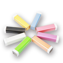 colorful plastic case power bank 2600mah, powerbank for samsung, for iphone, external mobile battery charger 2600 mAh,