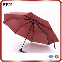"21""*8k small rain and sun proof 3 folding umbrella"
