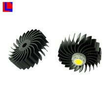 6000 series extruded natural anodized high heat dissaption aluminum LED heatsink