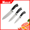 2016 new product ceramic knife set with leather sense handle