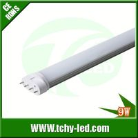 Manufacturer directly sale bright freezer led light 2g11 led ping tube 9w12w18w