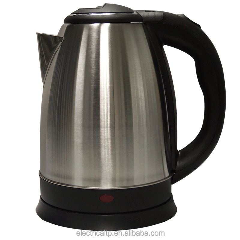 Cordless and red color water kettle manufacturer