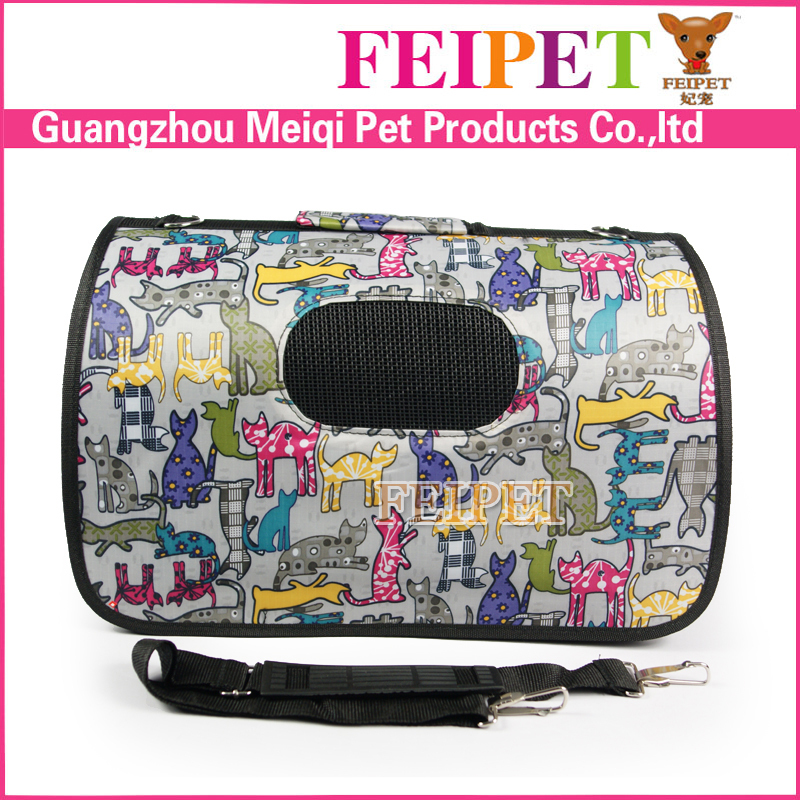 New Design Foldable Cute Pet Travel Bags Carriers Dog Carry Bag