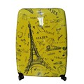 Super Large 32 inch ABS Printed PC Travel Luggage Trolley