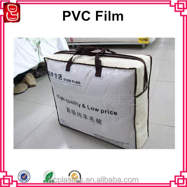 China manufacturer clear pvc soft film roll