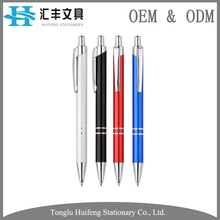 HF7320A high quality promotional school stationery branded biros for writing
