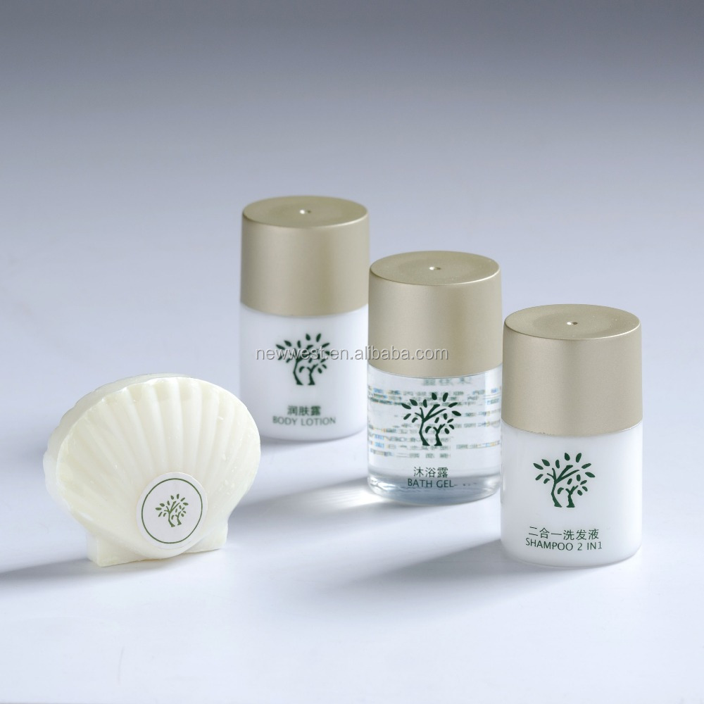 Top Hotel Brand Hair Amenity Kit Mini Shampoo and Conditioner Bottles