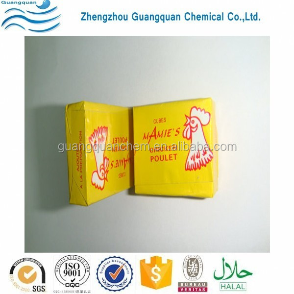 4g Halal Stock Cube/Seasoning Powder/Beef Soup Cube/Bouillon/Condiment