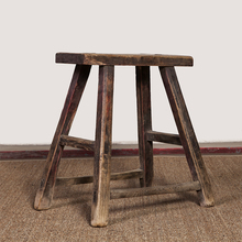 antique beijing furniture chinese rustic vintage wooden stool