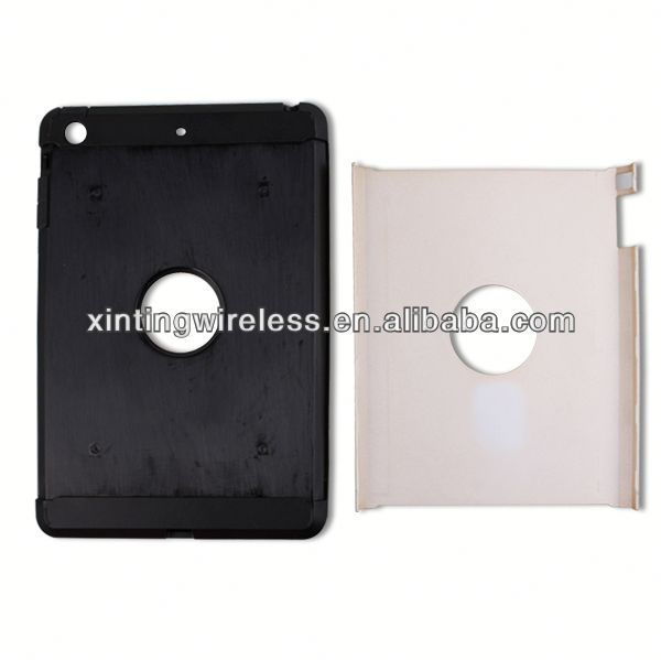 Mobile Phone Accessories clear pc tpu case for ipad mini tpu pc combo case