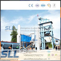 single drum type bituminous concrete mixing equipment