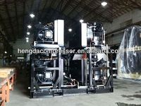 chinese with tank 12v Hengda compressor 140CFM 580PSI 60HP 2014 CHINAPLAS