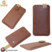 phone Pull tab leather case for Samsung Galaxy Note 3