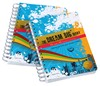 hardcover PVC notebook printing with customized logo