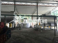 Used motor oil recycling, oil purifying machine