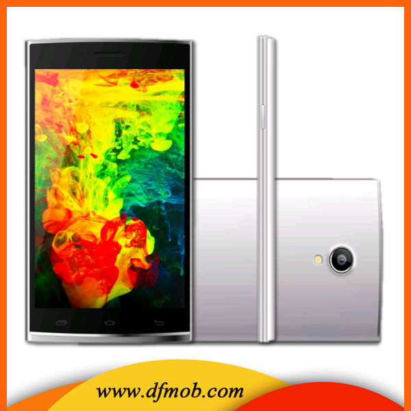 5.5 Inch QHD IPS Screen GPS/Wifi MTK6582 Quad Core Android 4.4 Low Price China Mobile Phone L8