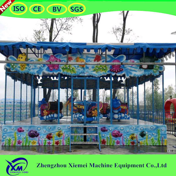 indoor Happy Spray ball Car rides amusement park train rides for sale